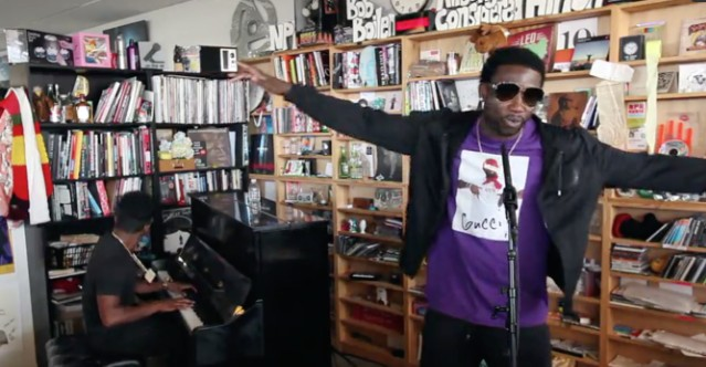 67cfbc5cbc9 Watch Gucci Mane   Zaytoven s Tiny Desk Concert - Stereogum