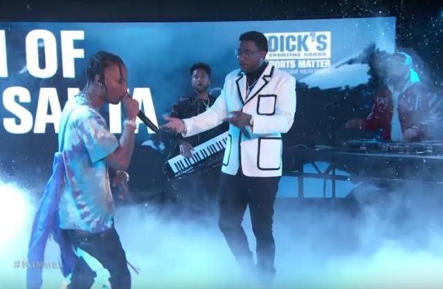 Gucci Mane and Travis Scott on Kimmel