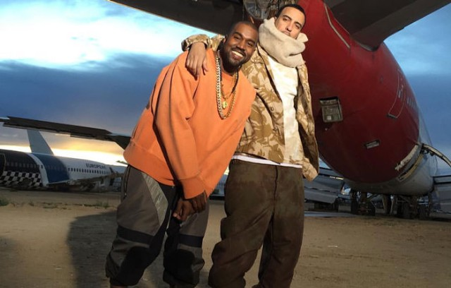 Kanye West and French Montana