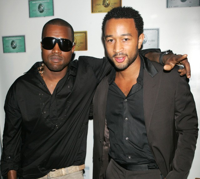 Kanye West And John Legend