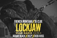 "French Montana & DJ Clue – ""Lockjaw (Remix)"" (Feat. Kodak Black, Jeezy, Rick Ross, & DJ Khaled)"