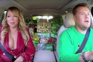 Watch James Corden's All-Star Christmas Carpool Karaoke With Mariah Carey, Adele, Elton John, Others