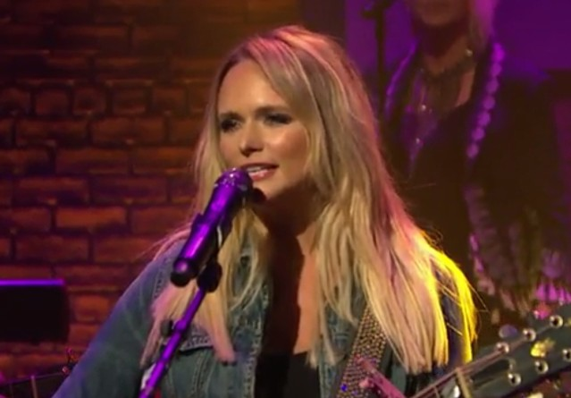 Miranda Lambert on Seth Meyers