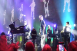 """Watch Bon Iver & Francis And The Lights Do Their """"Friends"""" Dance In Brooklyn"""