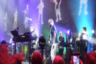 "Watch Bon Iver & Francis And The Lights Do Their ""Friends"" Dance In Brooklyn"