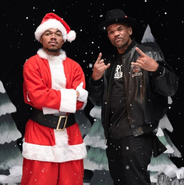 Chance The Rapper and D.M.C.