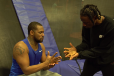 Watch ScHoolboy Q & Joey Bada$$ Face Off In Trampoline Dodgeball