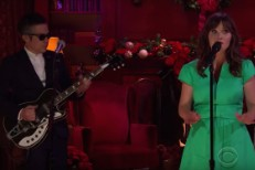She And Him on Corden
