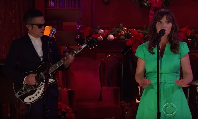 She And Him Christmas.She Him Christmas Memories Video James Corden