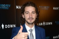 Shia LaBeouf Comes For Drake, Lil Yachty, And Peter Rosenburg On <em>The Breakfast Club</em> Freestyle