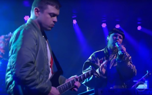 Sleigh Bells on Colbert