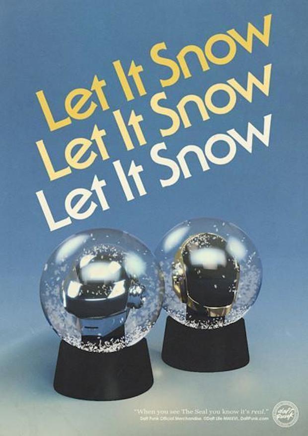 Snow globes poster