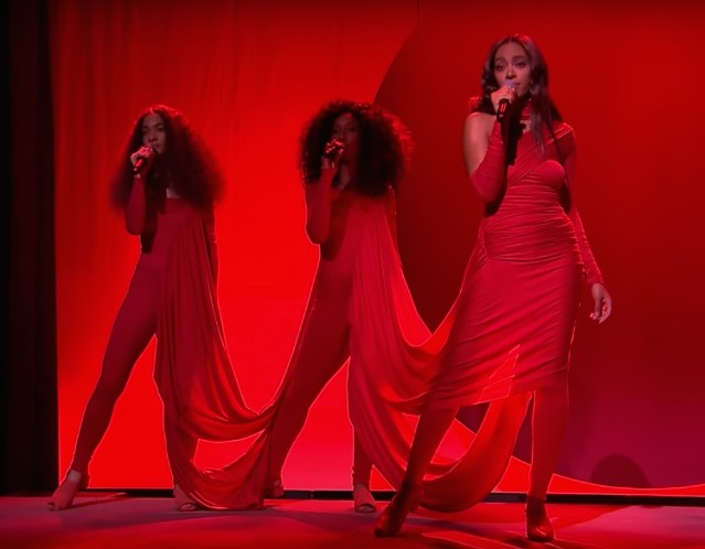 Solange on The Tonight Show