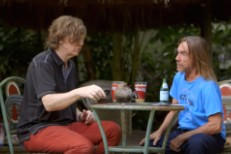 Thurston Moore and Iggy Pop