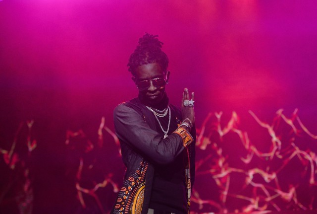 Watch Young Thug Get Dropped On His Head While Crowdsurfing