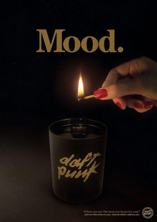 Daft Punk Candle
