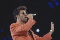 George Michael in Concert at Wembley Stadium