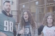 Watch Kurt Vile's Wacky New Year's Eve Show Commercial With Philadelphia Eagles' Connor Barwin
