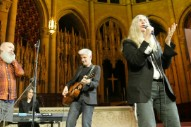 Watch Michael Stipe Join Patti Smith At Democracy Now!'s 20th Anniversary Concert