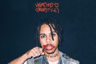 "Vic Mensa – ""heathens freestyle."""