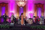 Solange Performs At Obamas' Farewell Party; Paul McCartney, Bruce Springsteen, Chance The Rapper Attend