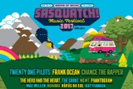 Sasquatch! 2017 Lineup