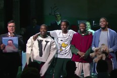 ASAP Mob on Colbert
