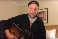 "Watch Billy Bragg Sing ""The Times They Are A-Changin'"" As An Anti-Trump Protest Song"
