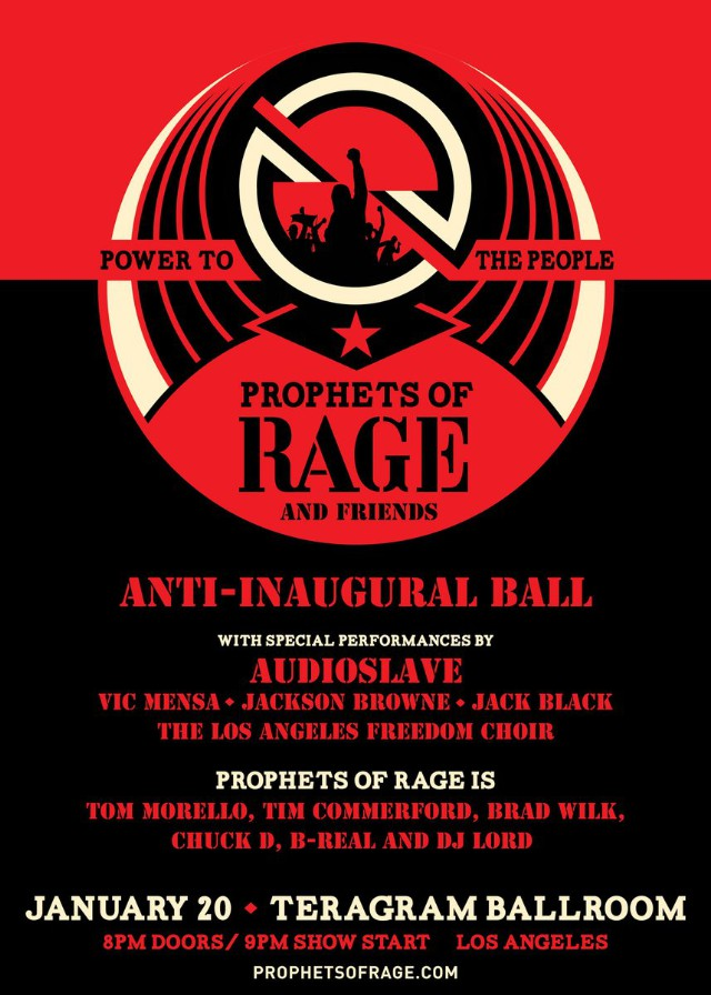Audioslave To Reunite For Anti-Inaugural Ball