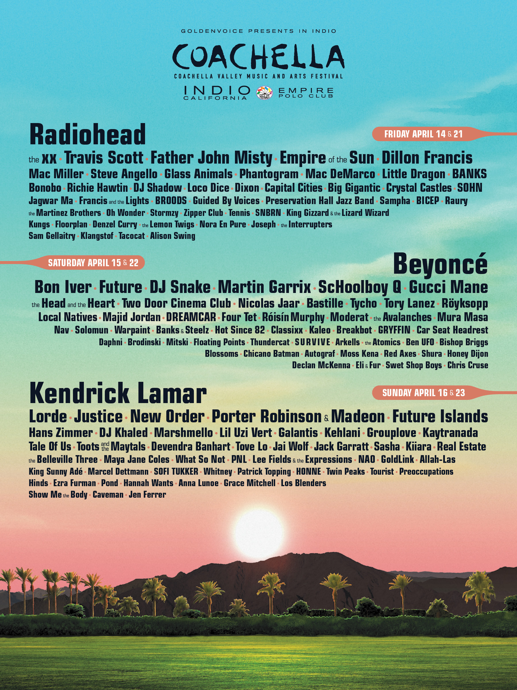 9fba90c646bb Get In Formation  Some Thoughts About The 2017 Coachella Poster ...