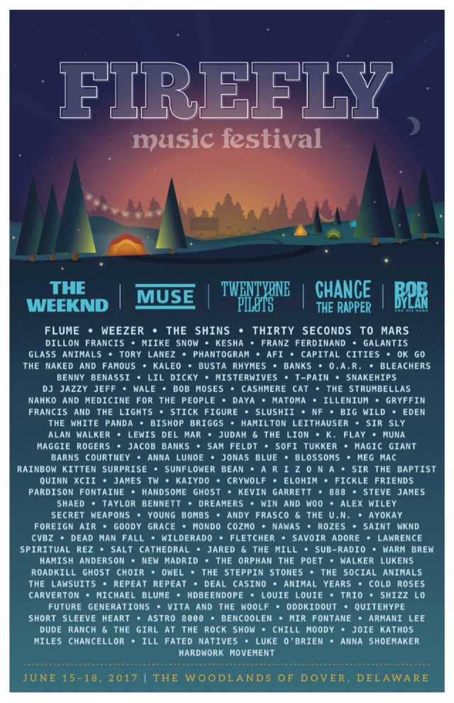 Firefly 2017 Lineup Stereogum
