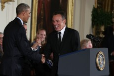 Here's What Bruce Springsteen Played At A Private Farewell Concert For Obama's Staff