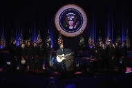 Watch Eddie Vedder Perform At President Obama's Farewell Address