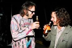 Neil Young Eddie Vedder