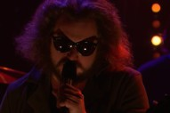 Watch Jim James Sing &#8220;The World&#8217;s Smiling Now&#8221; On <em>James Corden</em>