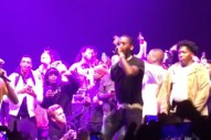 "Watch Migos Do ""Bad And Boujee"" With Chance The Rapper, Lil Yachty, YG, 2 Chainz, & Ty Dolla $ign In LA"