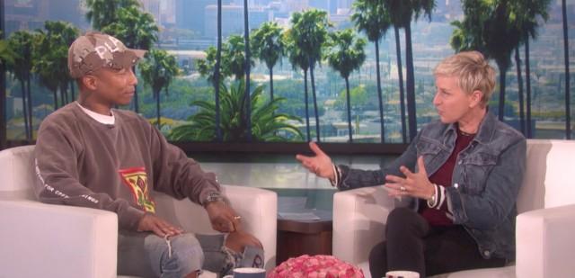 Pharrell and Ellen