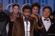 <em>Atlanta</em> Wins Golden Globes, Donald Glover Thanks Migos For &#8220;Bad And Boujee&#8221;