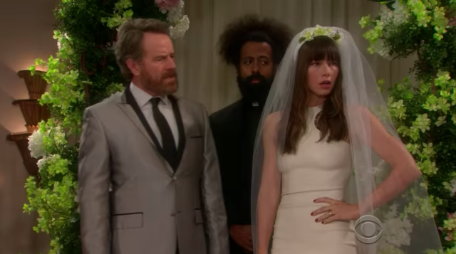 Watch Bryan Cranston, Jessica Biel, Giovanni Ribisi, & James Corden Perform A Kanye West Soap Opera