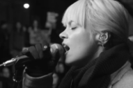 "Lily Allen – ""Going To A Town"" (Rufus Wainwright Cover) Video"