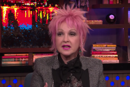 Cyndi Lauper Critiques Madonna's Women's March Speech
