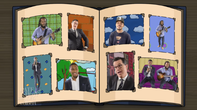 Watch Stephen Colbert, Ziggy Marley, Jon Batiste, & Chance The Rapper Perform The <em>Arthur</em> Theme Song In Colorful Video