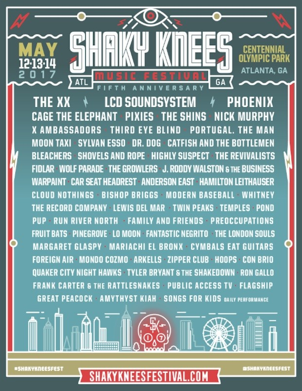 Shaky Knees 2017
