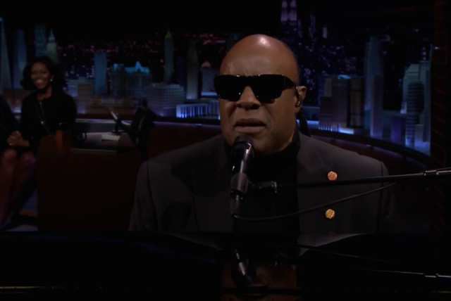 Stevie Wonder on The Tonight Show