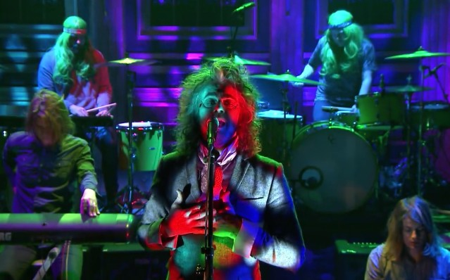The Flaming Lips on The Tonight Show
