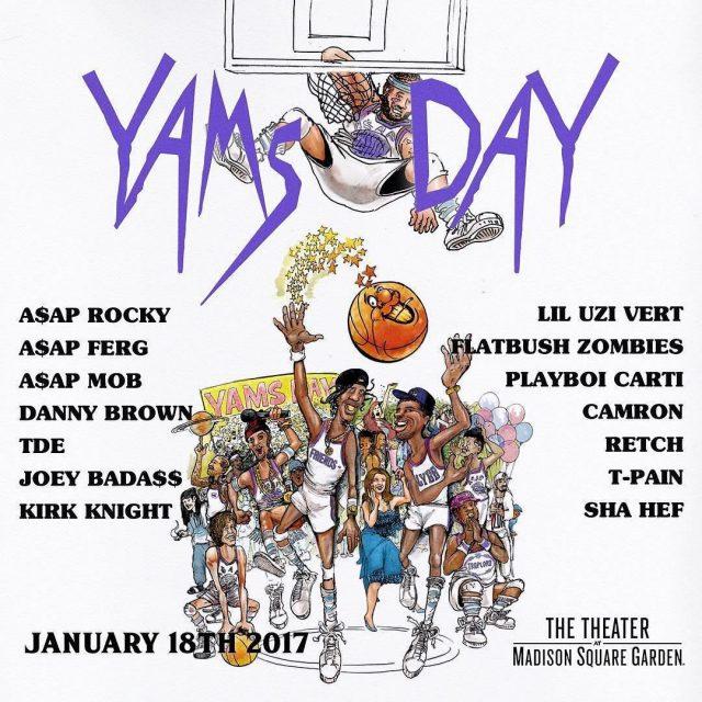 Yams Day 2017
