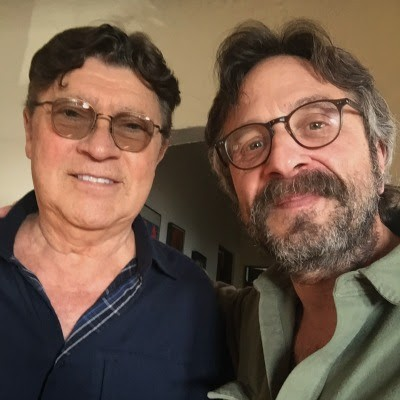Hear Marc Maron Interview The Band's Robbie Robertson On <em>WTF</em>
