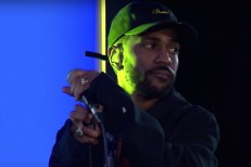 Big Sean in Live Lounge