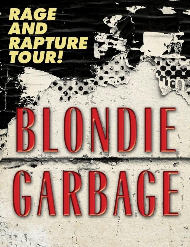 Blondie and Garbage tour