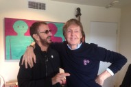 Paul McCartney & Ringo Starr Recorded Music Together For First Time In Seven Years